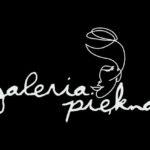 Projekt loga gabinetu urody Galeria Piękna w nowoczesnym, minimalistycznym stylu.